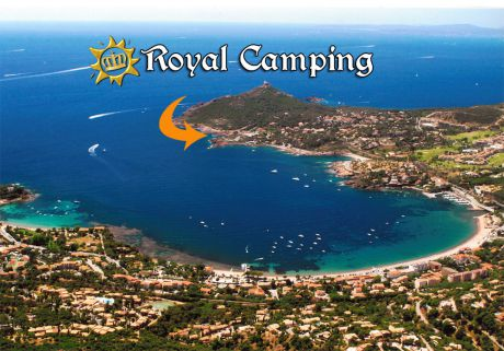 Vue aerienne Royal Camping