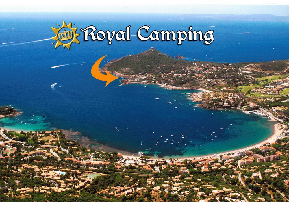 Royal camping agay dramont var esterel for Camping var piscine bord de mer